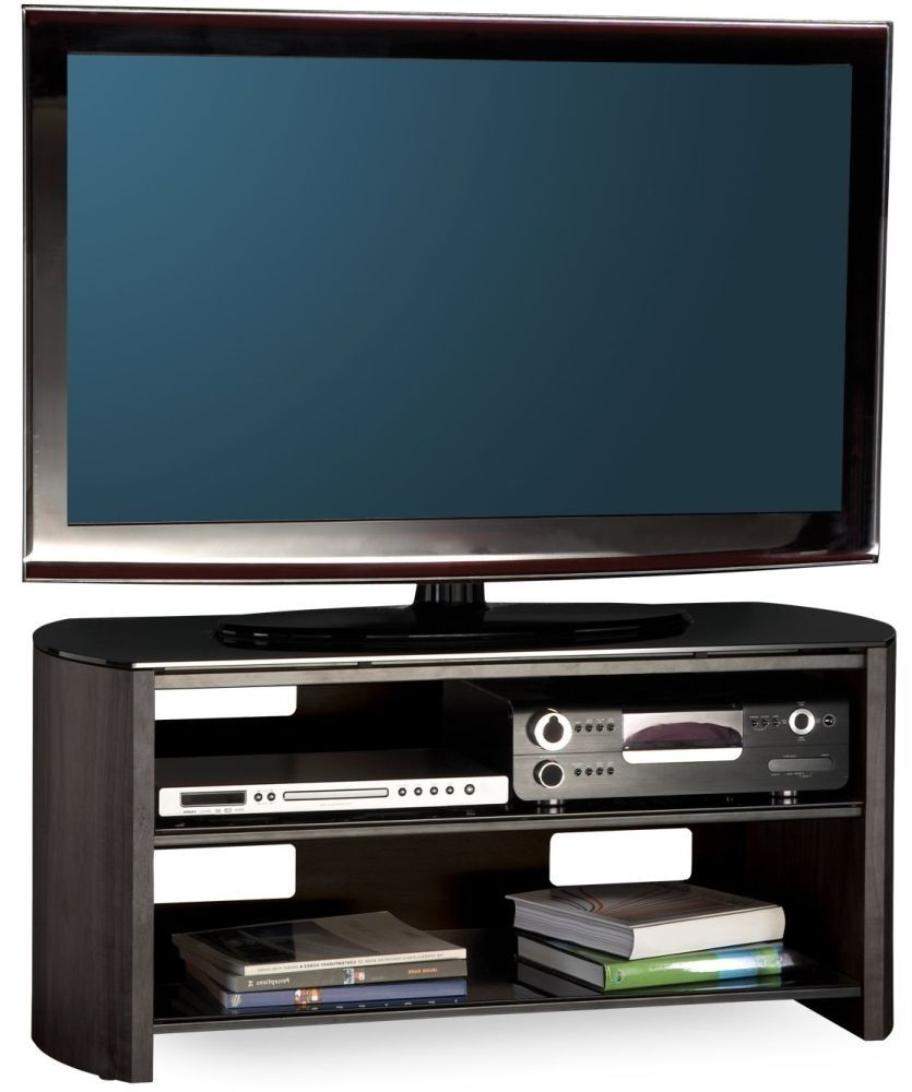 Alphason Finewood Black Oak TV Unit for 50inch - FW1100-BV/B