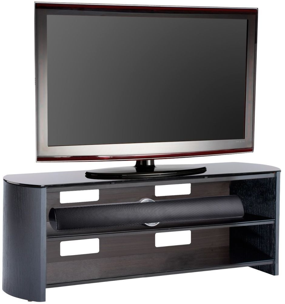 Alphason Finewood Black Oak TV Unit - FW1350