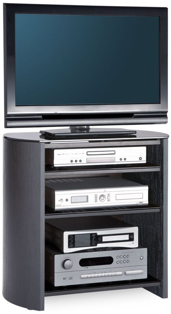 Alphason Finewood  Black Oak TV Unit - FW750-4