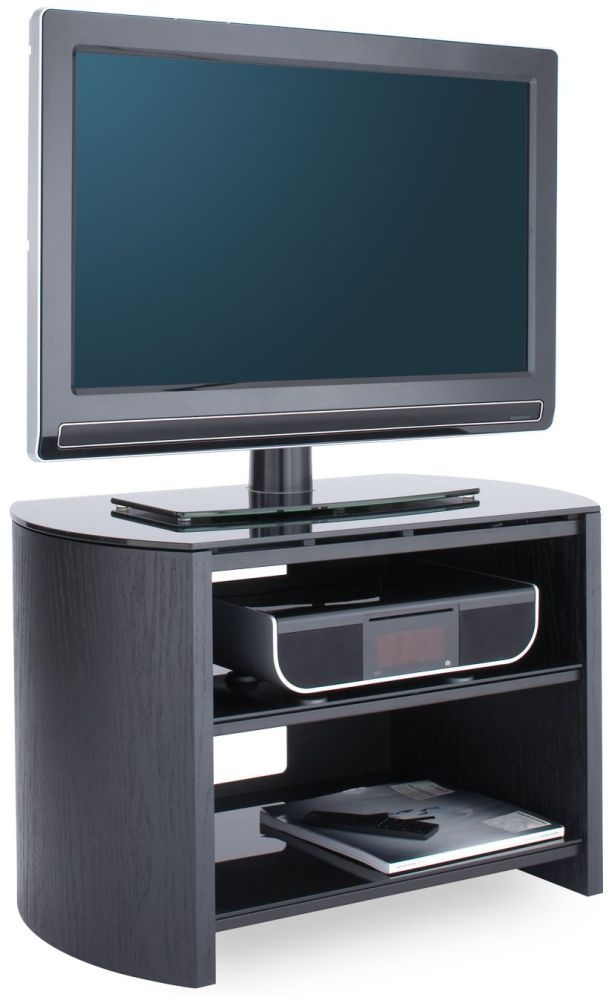 Alphason Finewood Black Oak TV Unit for 32inch - FW750