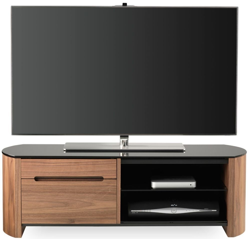Alphason Finewood Walnut Tv Cabinet Fw1100cb Alphason