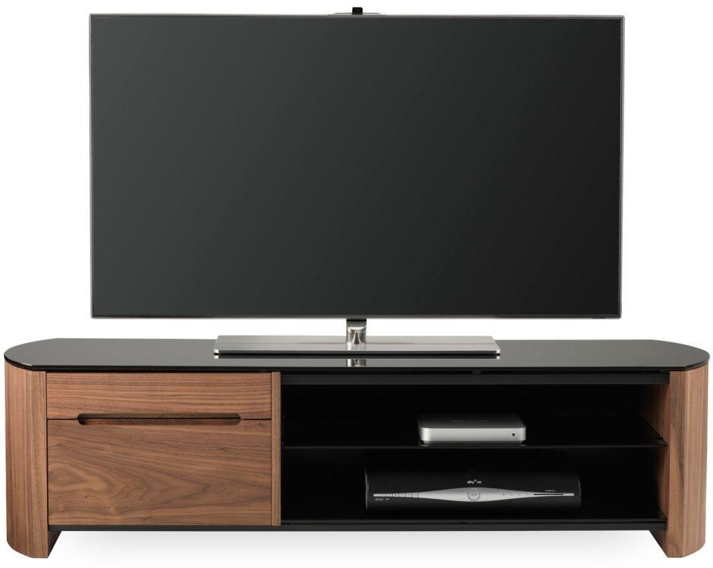 Alphason Finewood Walnut TV Cabinet for 58inch - FW1350CB-W