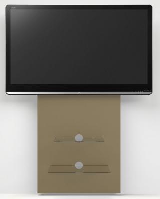 Alphason Mercury Paintable Raw MDF Slimline Wall Mounted TV Stand