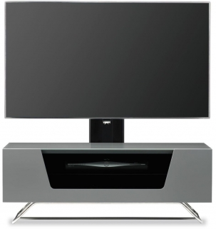 Alphason Chromium 2 Grey Cantilever TV Cabinet for 50inch - CRO2-1000BKT-GR