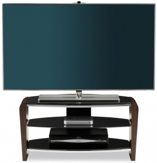 Alphason Francium TV Unit for 36inch - Black and Walnut FRN800-3-W