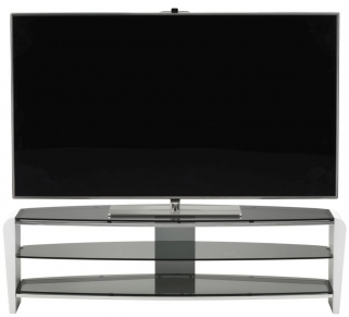 Alphason Francium White TV Unit - FRN1400-3WHT-SK