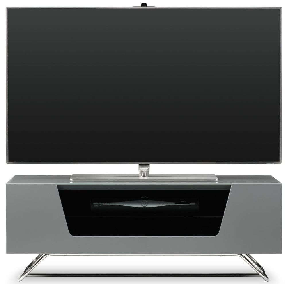 Alphason Chromium 2 Grey TV Cabinet for 45inch - CRO2-1000CB-GRY