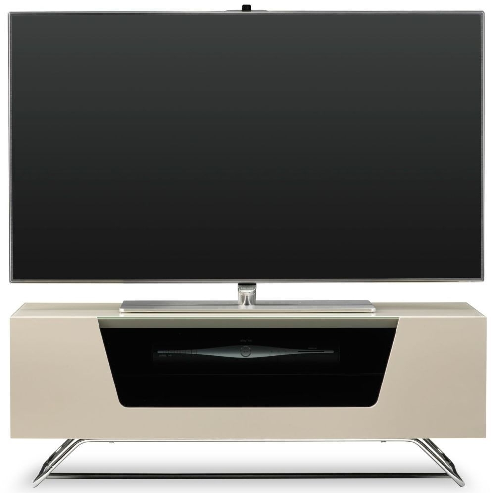 Alphason Chromium 2 Ivory TV Cabinet for 45inch - CRO2-1000CB-IVO