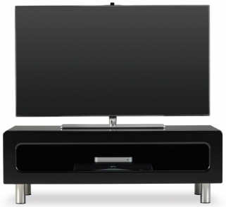 New Ambri Black TV Stand - ABR1100CB-BLK