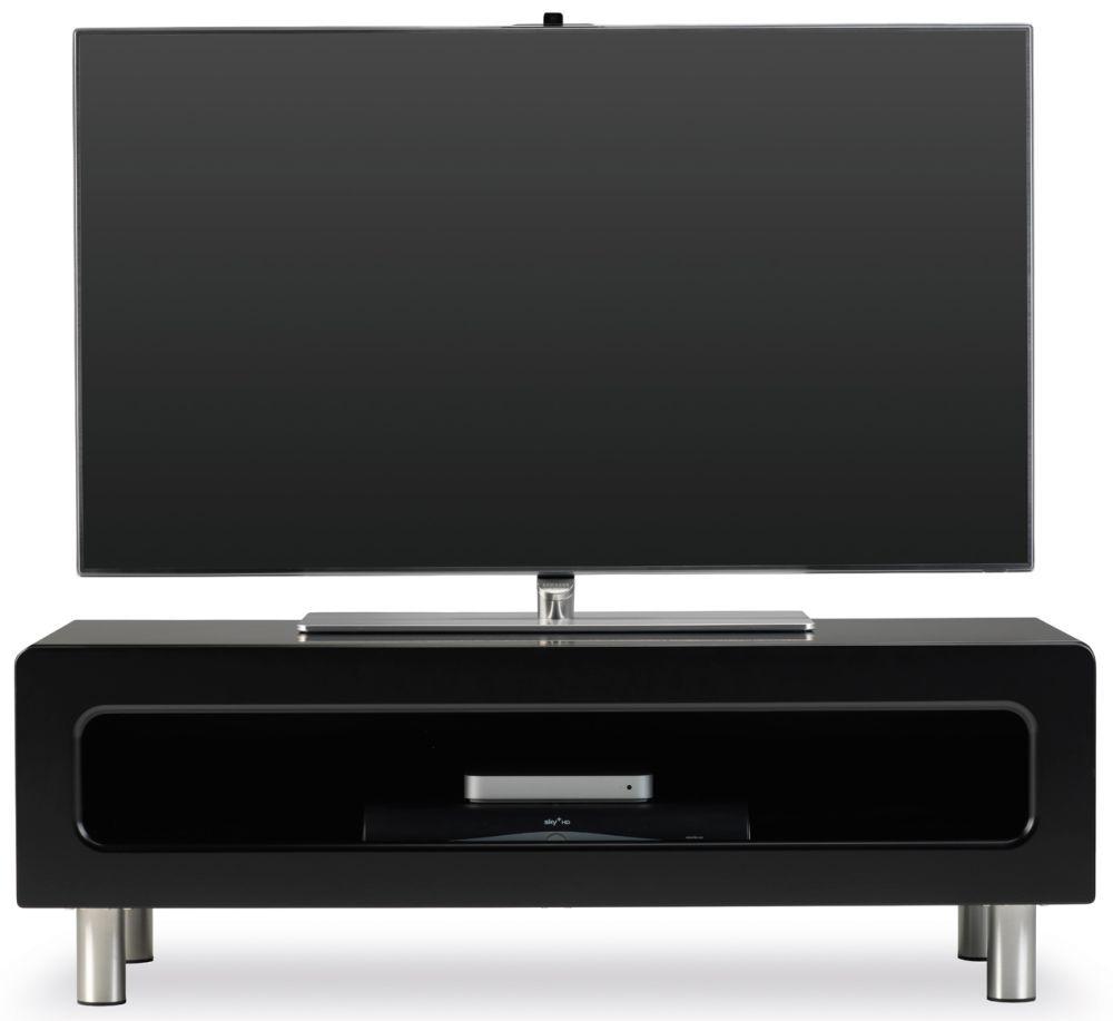 New Ambri Black TV Stand - ABR1100CB-BLK