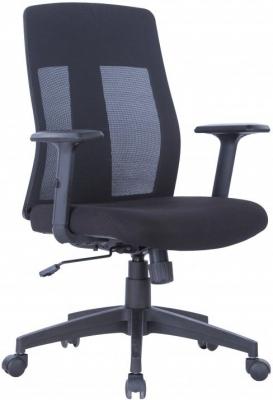 Alphason Laguna Black Fabric Office Chair - AOC1705BLK