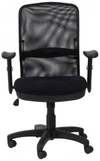 Alphason Dakota Black Mesh Fabric Office Chair - AOC9200-M