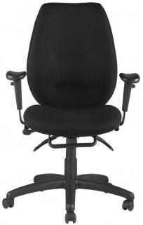 Alphason Trinity Black Fabric Office Chair - AOC2331HBSYA-BK