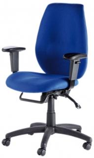 Alphason Trinity Blue Fabric Office Chair - AOC2331HBSYA-BE