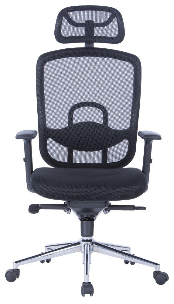 Alphason Miami Black Office Chair - AOC2800BLK