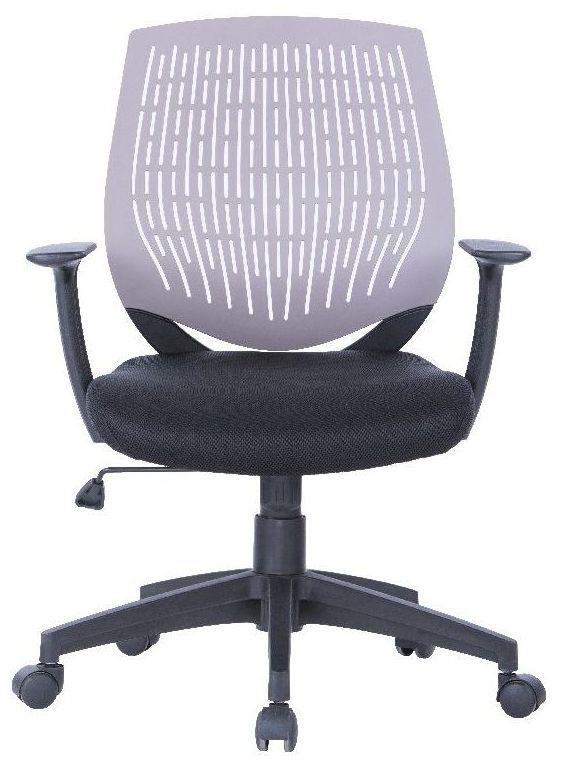 Alphason Malibu Grey Fabric Office Chair - AOC5460GRY
