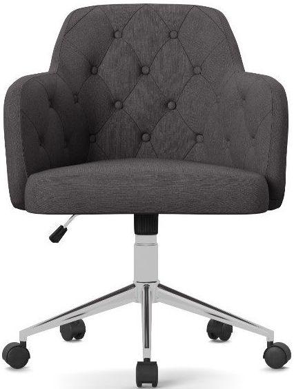 Alphason Washington Grey Fabric Office Chair - AOC7257GRY