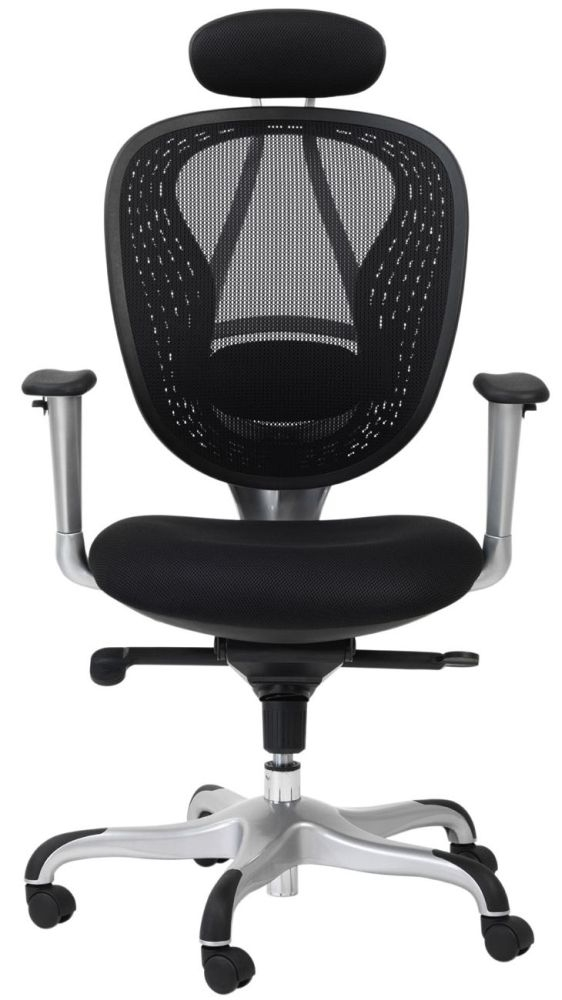 Alphason Blade Black Mesh Office Chair - AOC9699-M