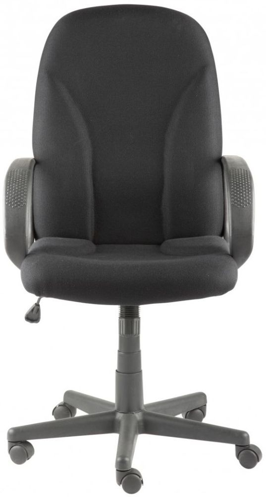 Alphason Boston Black Fabric Office Chair AOC3282-BK