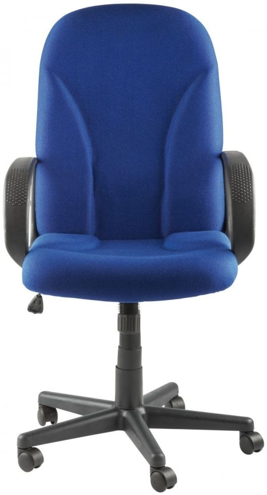 Alphason Boston Blue Fabric Office Chair AOC3282-BE