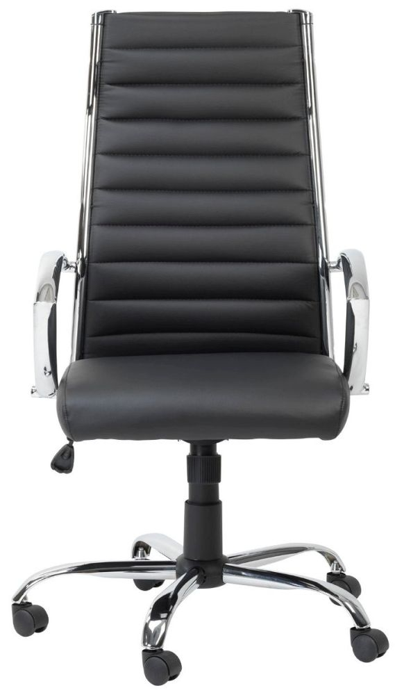 buy leather chairs online buy alphason hartford black faux leather office chair 11873 | 3 Alphason Hartford Black Faux Leather Office Chair AOC3208 PU BK