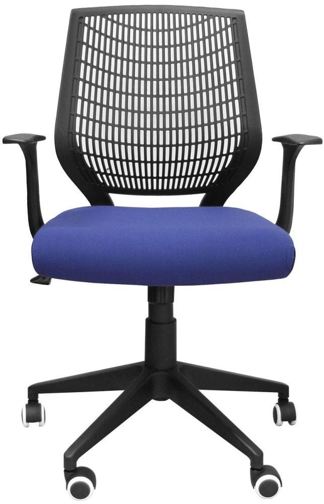 Alphason Pace Blue Fabric Office Chair AOC9540-F-BL