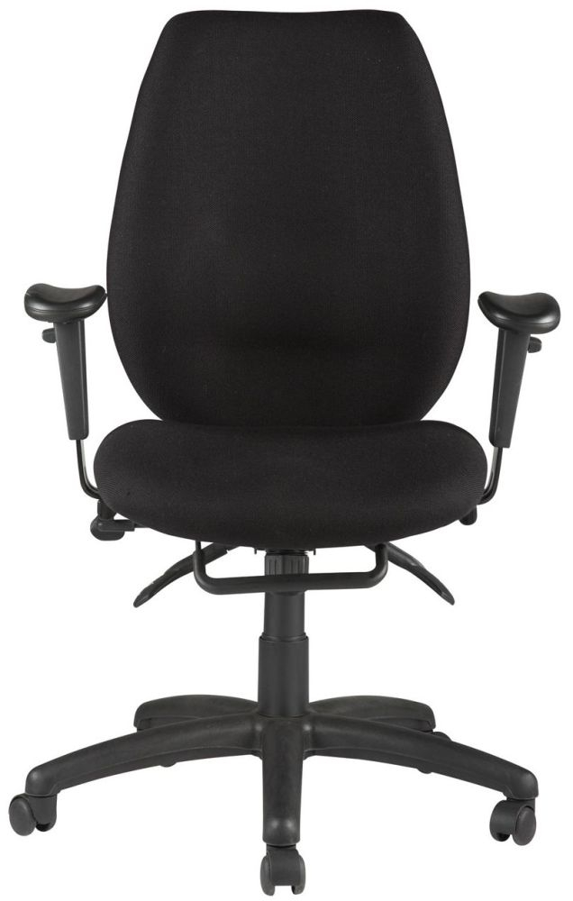 Alphason Trinity Black Fabric Office Chair - AOC2331HBSYA-BK