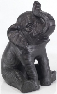Ancient Mariner Sitting Terracotta Elephant