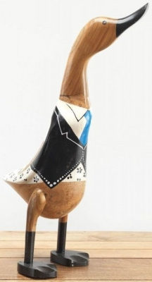 Ancient Mariner Uniformed Wooden Duck