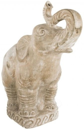 Ancient Mariner Large Terracotta Elephant