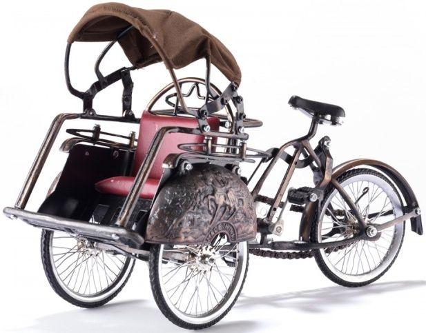 Ancient Mariner Metal Rickshaw