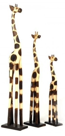 Ancient Mariner Giraffes (Set of 3)