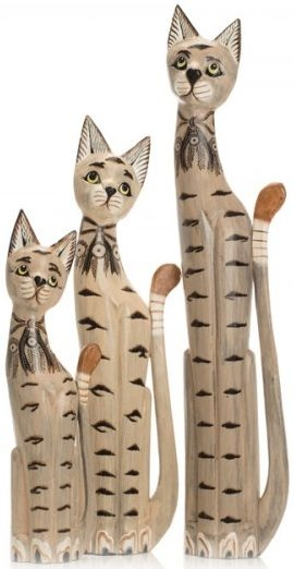 Ancient Mariner Set of 3 Large Cats