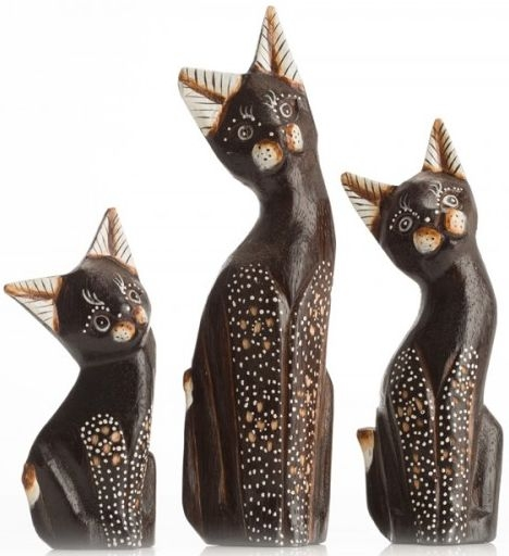 Ancient Mariner Set of 3 Small Cats