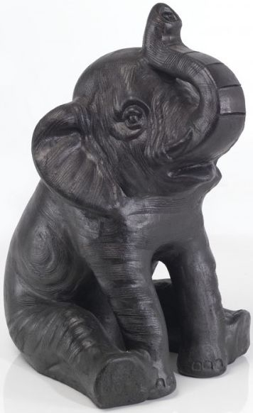 Ancient Mariner Small Sitting Terracotta Elephant