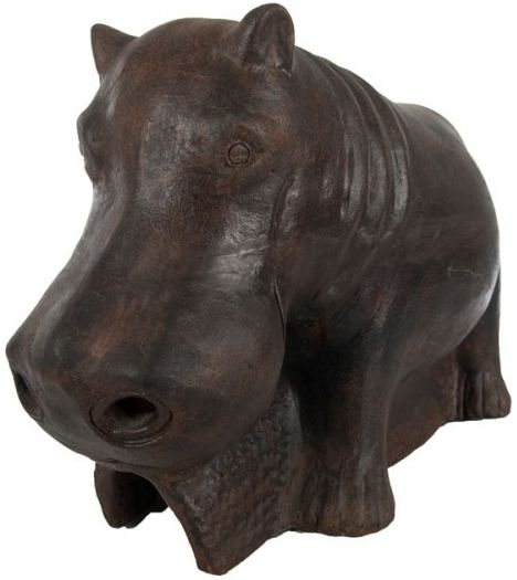 Ancient Mariner Small Terracotta Hippo