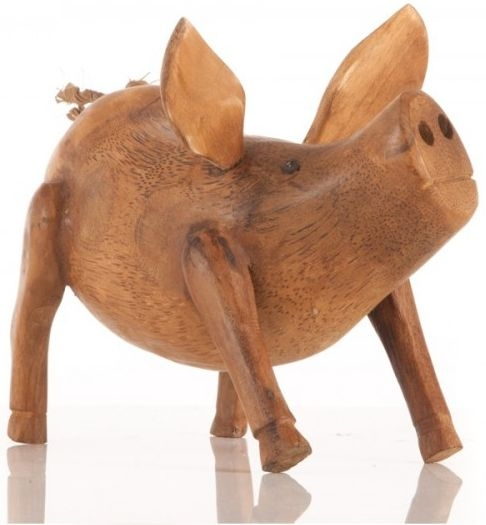 Ancient Mariner Small Wooden Pig