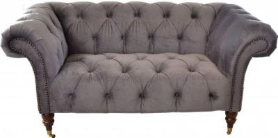 Ancient Mariner Ellie Chesterfield Velvet 2 Seater Sofa