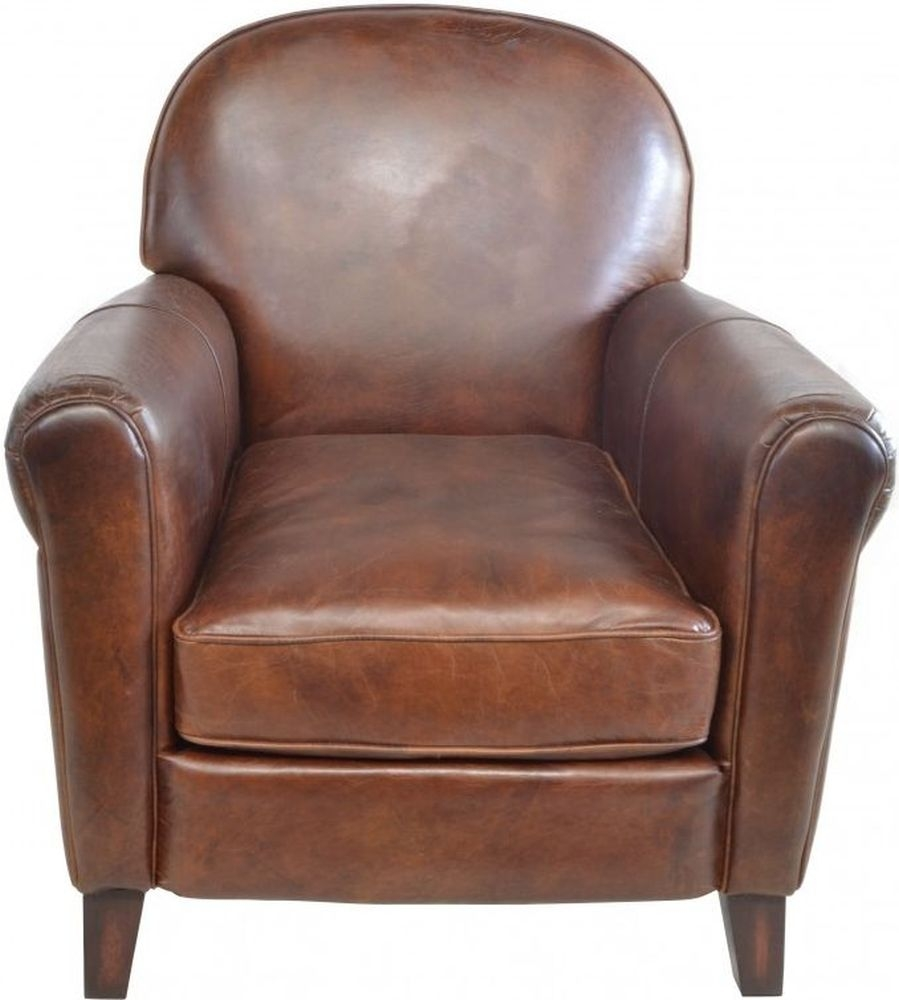 Ancient Mariner Cigar Leather Armchair
