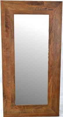 Ancient Mariner Brace Mango Wood Rectangular Mirror - 80cm x 141cm