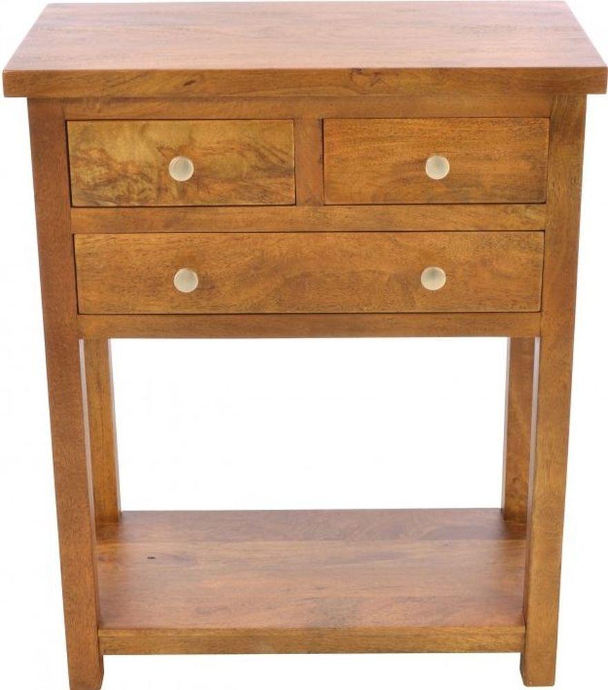 Ancient Mariner Brace Mango Wood Large Telephone Table thumbnail