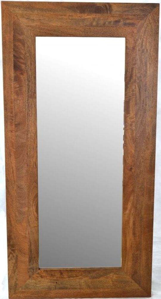 Ancient Mariner Brace Mango Wood Rectangular Mirror - 80cm x 141cm