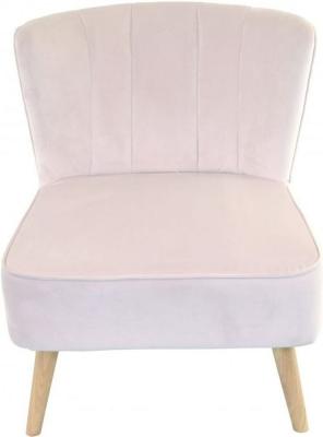 Ancient Mariner Cromarty Blossom Velvet Ribbed Back Chair