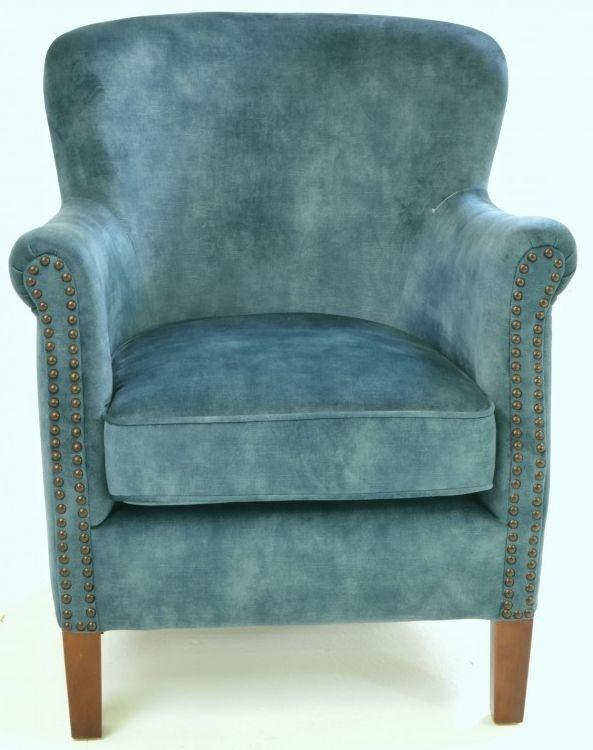Ancient Mariner Cromarty Deep Green Velvet Armchair