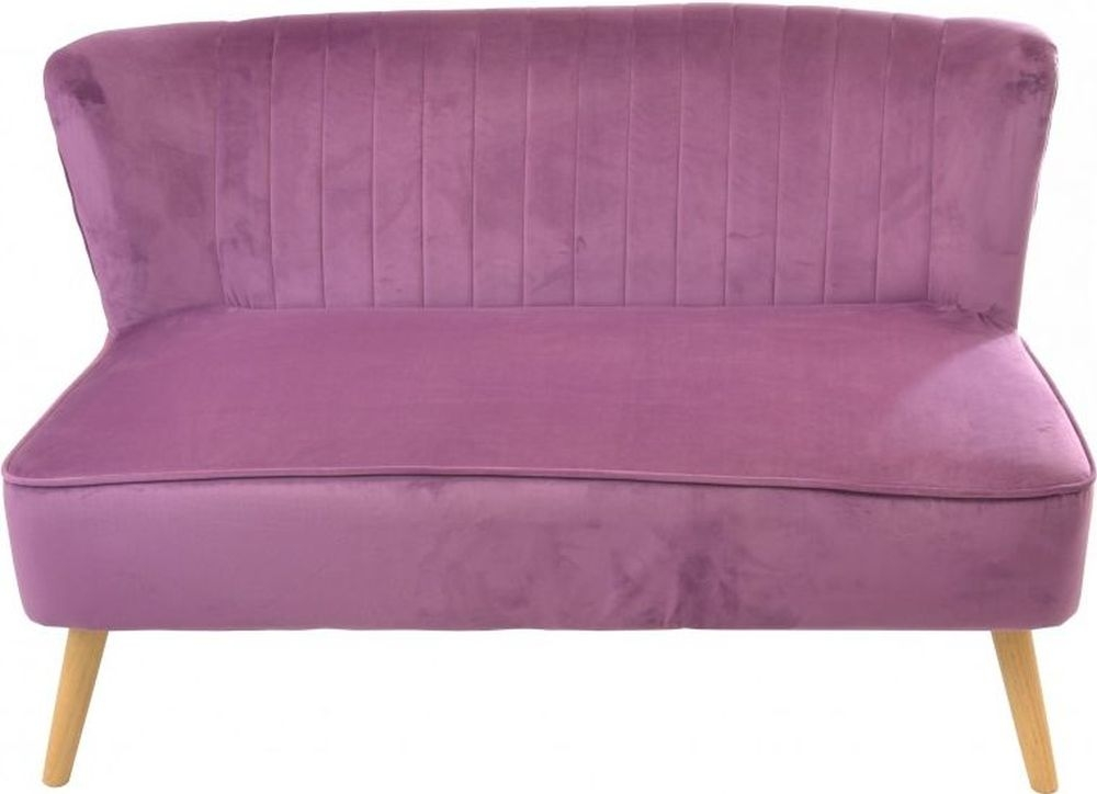 Ancient Mariner Cromarty Plum Velvet 2 Seater Sofa