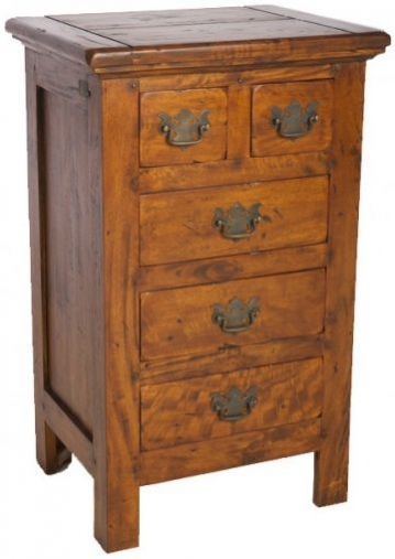 Ancient Mariner East Indies Solid Dark Mango Wood 2+3 Chest of Drawers