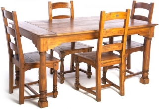 Ancient Mariner East Indies Dining Set with 4 Chair