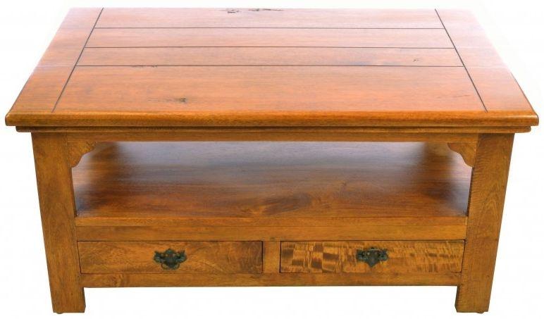 Ancient Mariner East Indies Dark Mango Wood Coffee Table