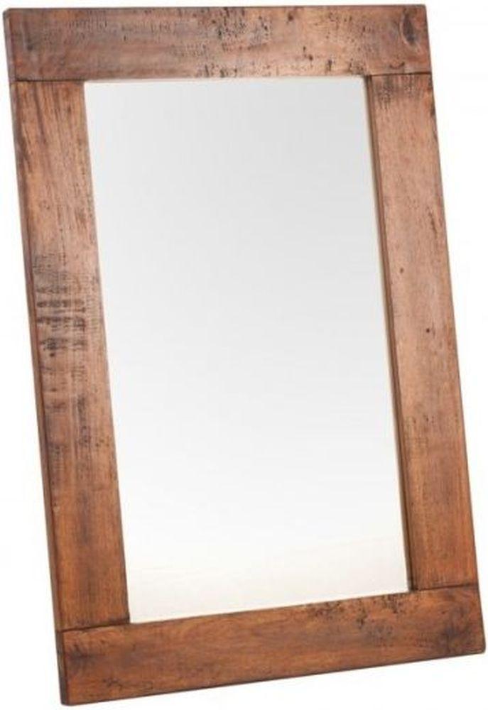 Ancient Mariner East Indies Mango Wood Rectangular Mirror - 66cm x 98cm