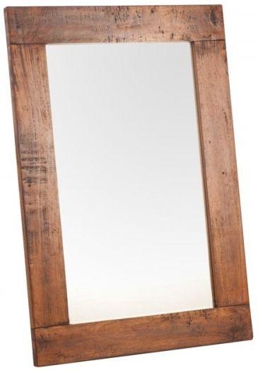 Ancient Mariner East Indies Solid Dark Mango Wood Mirror